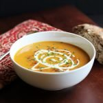 Spiced Butternut Squash & Coconut Milk Soup